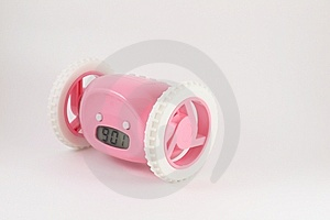 Running Away Clock Stock Photography - Image: 7650122