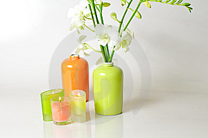 Decoration For A Spa Center Stock Image - Image: 7658691