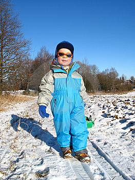 Little Boy Play Stock Image - Image: 7664011