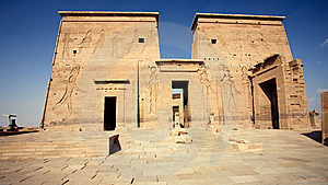 Temple In Egypt Royalty Free Stock Photos - Image: 7666938