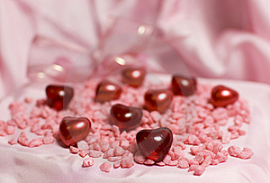 Valentin Hearts Stock Images - Image: 7667134