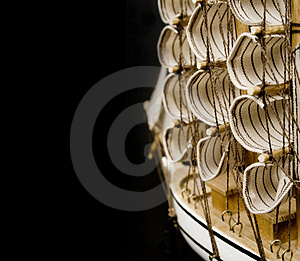 Model Of A Ship Royalty Free Stock Images - Image: 770829