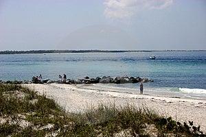 Наслаждаться пляжем Стоковое Изображение - изображение: 777081