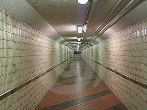 Underground Walkway Royalty Free Stock Images - Image: 777169
