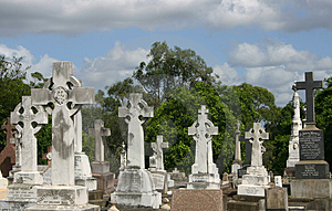 GRAVE CROSSES Stock Images - Image: 778434