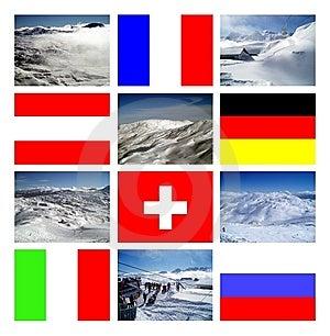 Alpine Countries Stock Photos - Image: 7700413