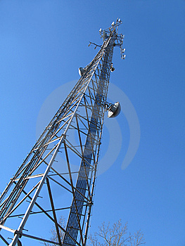 Communications Tower Stock Images - Image: 7700634