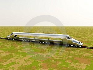 Train On Landscape Stock Photos - Image: 7702553