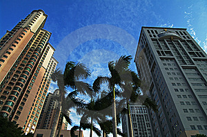 Century Square In Foshan China Stock Images - Image: 7702634