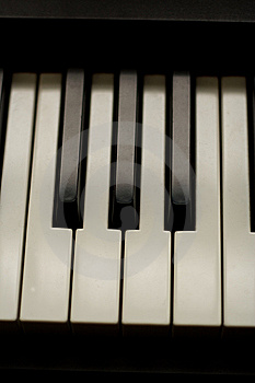 Piano Keys Royalty Free Stock Photography - Image: 7702827