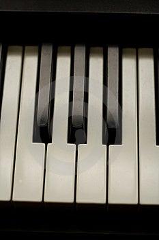 Piano Keys Royalty Free Stock Photography - Image: 7702827