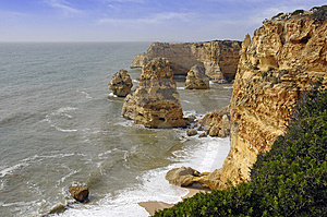Algarve, Portugal Royalty Free Stock Photo - Image: 7704085