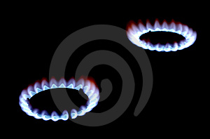 Gas Stove Royalty Free Stock Photo - Image: 7704315