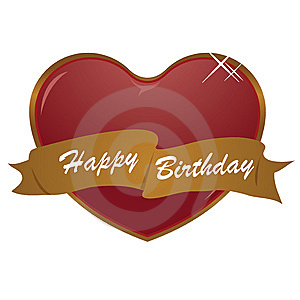 Happy Birthday Royalty Free Stock Image - Image: 7704796