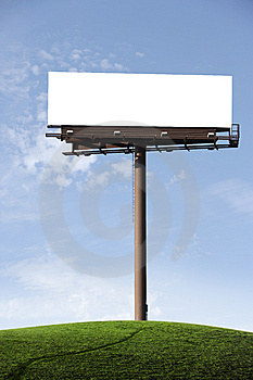Blank Billboard Royalty Free Stock Photos - Image: 7704808