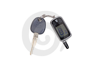 Car Key And Remote Royalty Free Stock Images - Image: 7705739