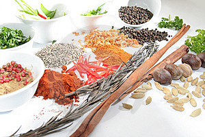 Herbs And Spices Stock Images - Image: 7706774