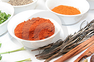 Herbs And Spices Stock Photos - Image: 7706873