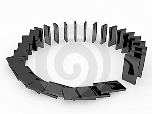 Domino Stock Photo - Image: 7707220