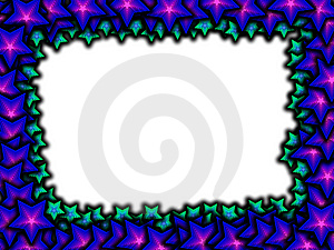 Stars Frame Stock Photo - Image: 7707530