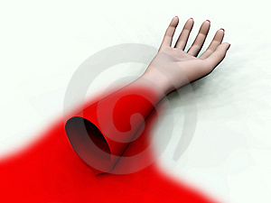 Bloody Arm 5 Stock Image - Image: 7707671