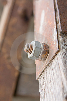 Part Of Old Ladder Royalty Free Stock Image - Image: 7707726