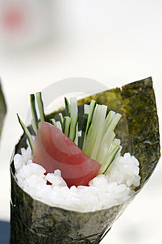 Prepared And Delicious Sushi Taken In Studio Stock Images - Image: 7709574