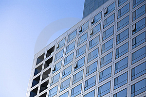 Windows By Modern Building Royalty Free Stock Images - Image: 7710309