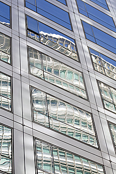 Reflective Of Windows Stock Photography - Image: 7710472
