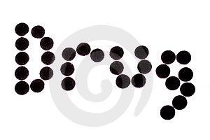 Droge Hintergrundbeleuchtet Lizenzfreie Stockfotografie - Bild: 7711007
