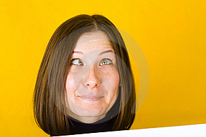 Crazy Woman. Stock Photo - Image: 7713270