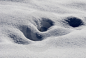 Snow Dunes Royalty Free Stock Image - Image: 7713536