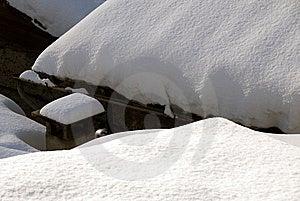 Snowy Chimney Royalty Free Stock Image - Image: 7713876
