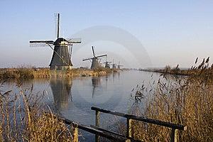 Mills Of Kinderdijk Stock Photos - Image: 7714063