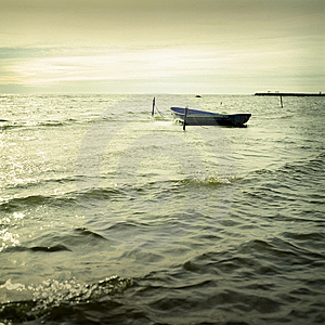Boat And Sea Stock Photography - Image: 7714512