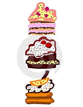 Cakes 2 Stock Image - Image: 7714631