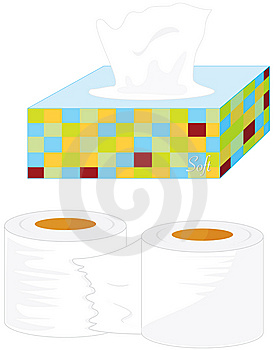 Tissues Royalty Free Stock Image - Image: 7715826