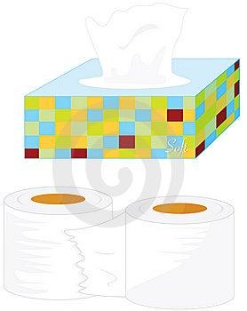 Tissues Royalty Free Stock Image - Image: 7715826