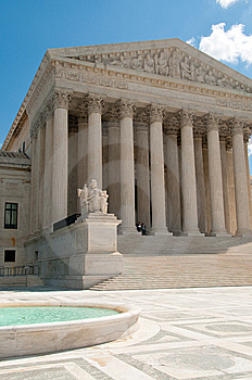 US Supreme Court Stock Photo