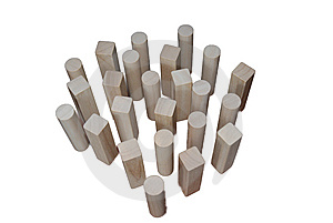 Wood Game Stock Images - Image: 7718004