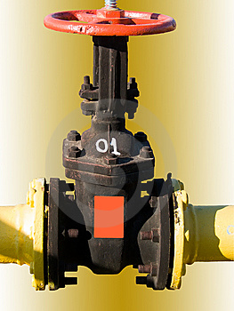 The Crane Gas Royalty Free Stock Images - Image: 7718389