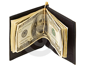 Leather Wallet Royalty Free Stock Photo - Image: 7718765