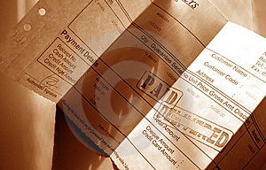 Financial Invoice Stock Photos - Image: 7719103