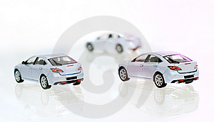 Three Cars Stock Photography - Image: 7719382