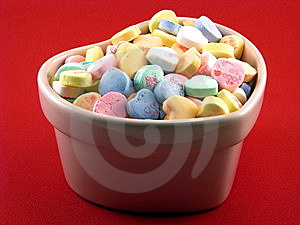 Conversation Hearts Royalty Free Stock Photo - Image: 7720335