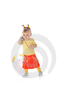 Speak Baby Stock Photography - Image: 7722102
