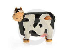 Crazy Toy Cow Stock Photography - Image: 7722432