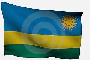 Rwanda 3d Flag Royalty Free Stock Image - Image: 7722496
