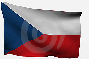 Czech Republic 3d Flag Royalty Free Stock Photo - Image: 7722605