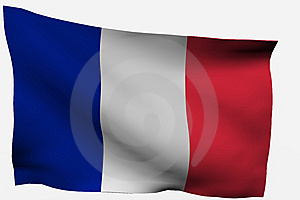 France 3D Flag Royalty Free Stock Photography - Image: 7722687